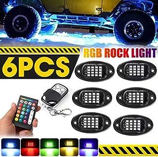 AKDSteel 1 set 96 LED RGB rock Lights APP Car Bottom Lights Neon Underglow Waterproof Lighting Kit Practical Durable Auto ...