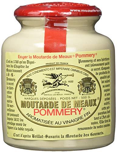 Pommery Franz. Pommery-Senf,körnig, 1er Pack (1 x 500 g)