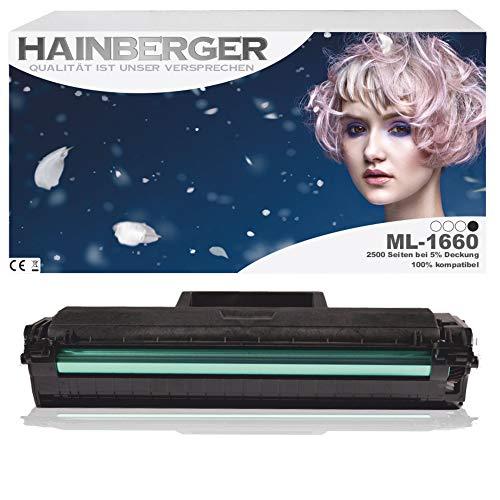 Hainberger Toner für Samsung ML-1660 Schwarz, 2.500 SeitenHainberger Toner für Samsung ML-1660 Schwarz, 2.500 Seiten