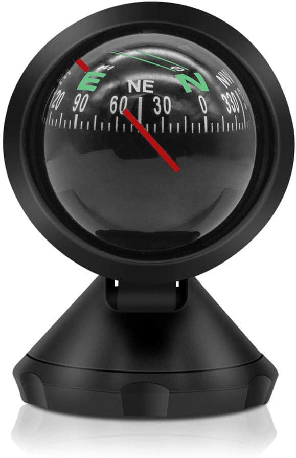 Geekercity Automotive Ranking TOP3 Compass Ball for Adjusta 4 years warranty or Car Mini Boat