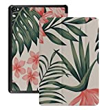 Funda Protectora Kindle 8 de HD8 (lanzada en 2018/2017, 8a / 7a generación) Estuche Monstera de Palma Tropical Tropical exótica Verde de Verano para la Nueva t