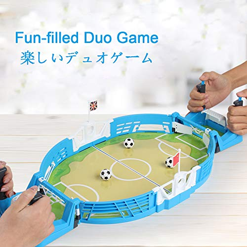 Read About HMM Mini Tabletop Soccer Game Soccer Game Board for Kids Fun Kids Adults Table Soccer Gam...