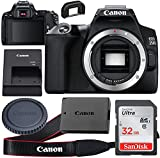 Canon EOS 250D (Rebel SL3) DSLR Body Only Camera Kit + 32GB High Speed Ultra Memory Card