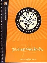 SUMMER MATH SKILLS SHARPENER- SEVENTH GRADE MATH REVIEW