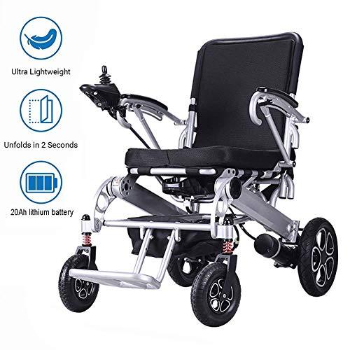 Naschenw motorstoel, scooter, gemotoriseerd, draagbaar, licht, elektrisch, voor de mobiliteit van handicap en oud, met accu 20 Ah Li-Ion