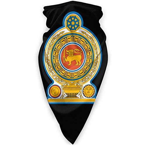 WlQshop emblème National du Sri Lanka Cache-Cou Plus Chaud Coupe-Vent Couverture du Visage écharpe Couverture de Sports de Plein air