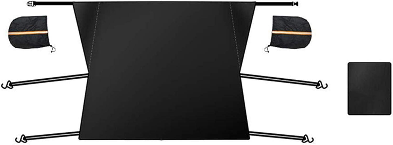 Watkings Pare-Soleil Universel de Couverture de Neige de Pare-Brise de qualit/é sup/érieure pour la Protection Contre la Neige et Le Soleil dautomobile de Voiture