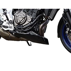 Motorbike Motorcycle Belly pan front spoiler Yamaha MT-07 Tracer 16-19 black matt