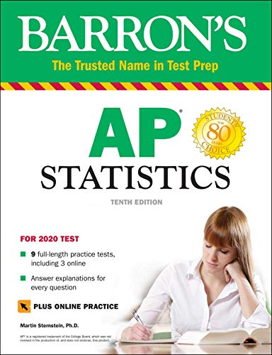 AP Statistics with Online Tests (Barron's Test Prep)
