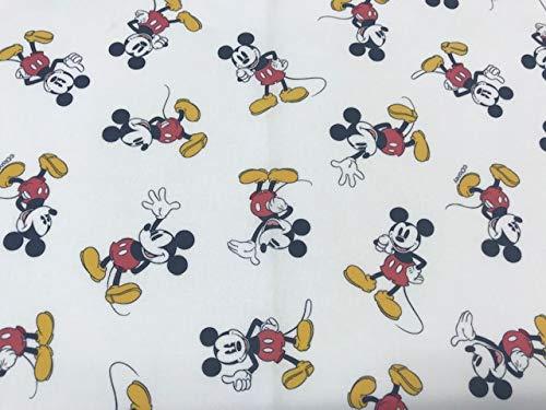 telas de mickey mouse original 100% popelina algodón