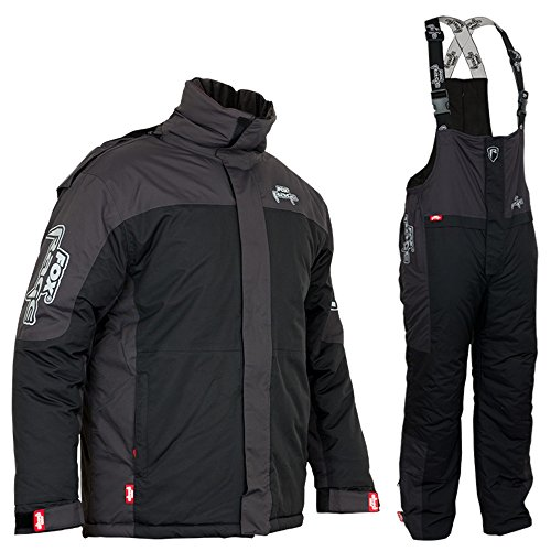 Fox Rage Winter Suit - Thermoanzug für Angler, Winteranzug für Raubfischangler, Schneeanzug zum Angeln bei kalten Temperaturen, Größe:XL