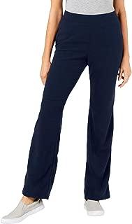 Karen Scott Sports Women's Fleece Elastic Waist Pull-On Sweatpants