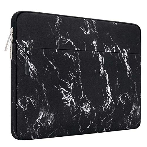Laptop Sleeve Bag Notebook Case 13.3 14 15 15.6 Inch Waterproof Laptop Cover New Pro16 inch A2141 Black Marble