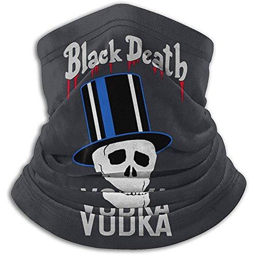 Black Death Vodka (Farbe) Fashion Warmer Ski-Nackenwärmer aus Mikrofaser