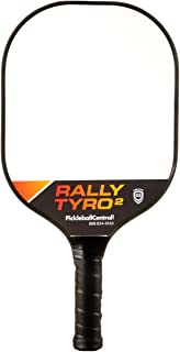 PickleballCentral Rally Tyro 2 Pickleball Paddle Advanced Composite Polypropylene Honeycomb Core and Fiberglass Face | Lightweight | Racket or Pickleball Set Options with Paddles and Balls