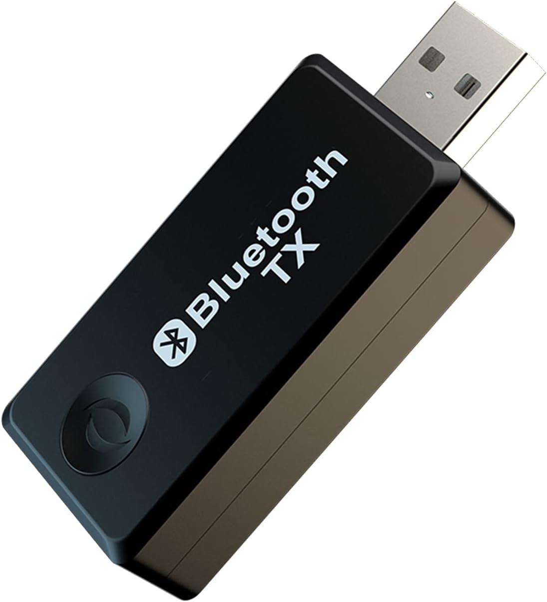 Transmisor Bluetooth USB , Transmisor de Audio Bluetooth Inalámbrico POMME Adaptador Bluetooth para Computadora Estéreo, Adecuado para TV / Computadora de Escritorio / Computadora Portátil