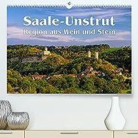 Saale-Unstrut - Region aus Wein und Stein (Premium, hochwertiger DIN A2 Wandkalender 2022, Kunstdruck in Hochglanz): Ein Bildkalender aus Deutschlands noerdlichster Weinbauregion (Monatskalender, 14 Seiten )