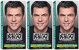 3x JUST FOR MEN Pflege-Tönungs-Shampoo schwarzbraun (je 66ml)