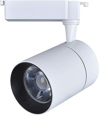 Spot LED 30W, Trilho Bivolt 3000K Branco Quente ,Avant