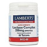 Lamberts Complejo de Lactasa 350 mg - 60 Tabletas