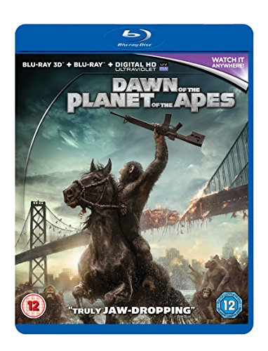 Dawn Of The Planet Of The Apes 3D BD [Blu-ray] [UK Import]