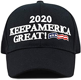 6671b2db9b6 THE HAT DEPOT Exclusive Donald Trump Slogan Keep America Great Make America  Great Again 3D
