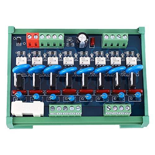 Keenso SPS-kaart BT137-600E 24 V DC 3,15 A waterdichte 8-kanaals SMS-DC-versterker SCR-silicium gestuurde gelijkrichter-uitgangsvermogen