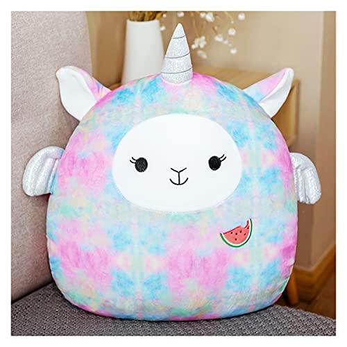 Juguete de peluche 45 cm caliente lindo suave grasa unicornio unicornio cignete de dinosaurio de cochinillo de los juguetes de peluche de la oficina rellena para dormir la muñeca de regalo de la almoh