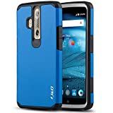ZTE Axon Pro Case, J&D [Heavy Duty Protection] [Dual Layer] Hybrid Shock Proof Fully Protective Rugged Case for ZTE Axon Pro - Blue