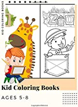 Kid Coloring Books Ages 5-8: Dinosaur , Unicorn & Animal Coloring Book Cartoon For Boys, Girls Toddlers & Teens Or Adult Best Xmas & Birthday Gifts With 250 Full Colour Pages Vol 18