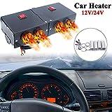 Riloer Riscaldatore parabrezza portatile per auto, kit riscaldatore per auto ad alta poten...
