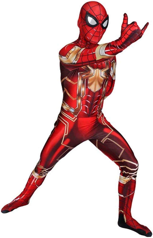 elige tu favorito TOYSJuegoS Mecánico Spiderman CosJugar Disfraz de Traje elástico para para para Adultos Escenario de película de Halloween Juego de Disfraces ( Color   Rojo , Talla   XXXL )  tienda de venta