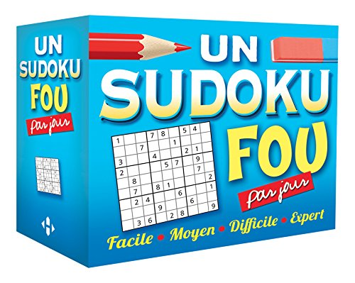 Un sudoku fou par jour 2017