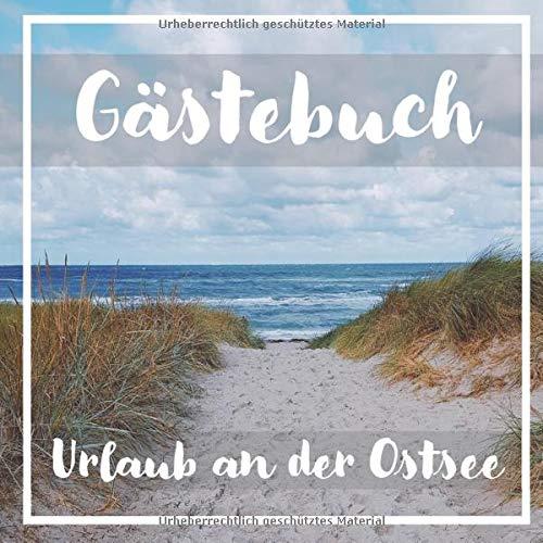 Gästebuch Ostsee: Gästebuch für Ferienwohnung / Pension / Gästehaus an der Ostsee