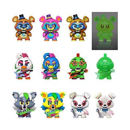 Funko- Mystery Minis : Five Nights at Freddy's Pizza Plex FNAF Figurine de Collection, 49688, Multicolore