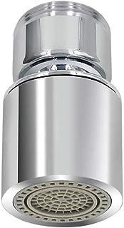 Raonlla 首振り 流し切替シャワー 外ネジ式 キッチン 蛇口シャワー 節水 雄ネジ 24mm