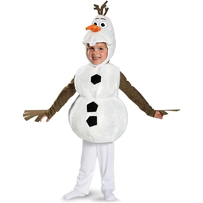 Disney Frozen Olaf Snowman 1Onesie//All In One Outfit//Fancy Dress Up//Costume 5-6