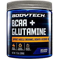top 10 body tech bcaa BodyTech BCAA Glutamine supports muscle endurance and restores growth with essential amino acids …