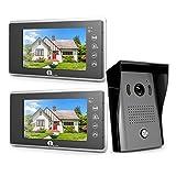1byone Video Intercom System - Video Doorbell Kit, 7-inch Wired Door Phone...