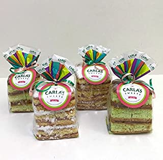 Carla's Sweets Assortment 19 (2 Guava Cakes and 2 Pistacho Cakes Bags)