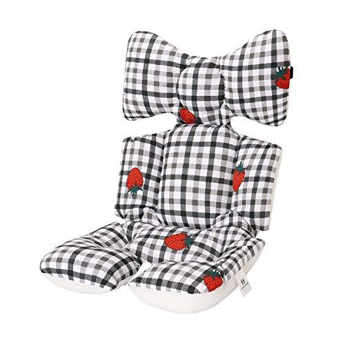 Universale Sitzauflage Sitzeinlage Babyschale Sportsitz Sitzpolster Winter Baumwolle Atmungsaktiv für kinderwagen Buggy