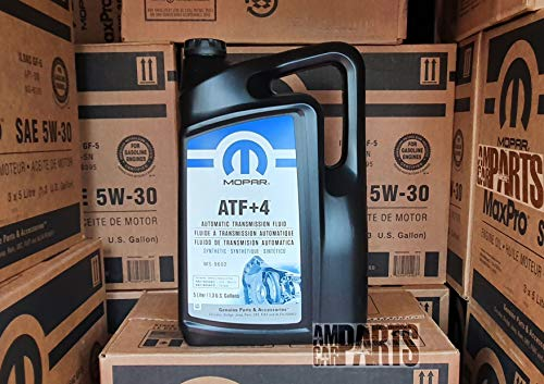 MOPAR Automatikgetriebe Automatikgetriebeöl ATF + 4 Inhalt 5-Liter MS-9602