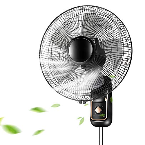 Wandventilator 16-Zoll-Swing, Haushaltsmaschinen-Fernbedienung stummschalten energiesparender industrieller 3 m Verlängerungskabel