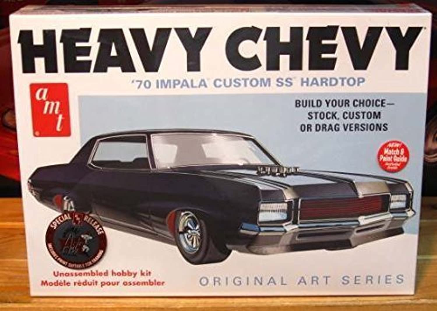 AMT 1 25 Scale 1970 Impala Heavy Chevy Model Car by AMT