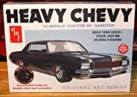 AMT 1:25 Scale 1970 Impala Heavy Chevy Model Car by AMT