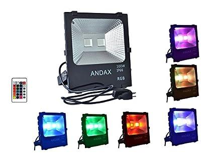 New High Powered Waterproof RGB LED Flood Light