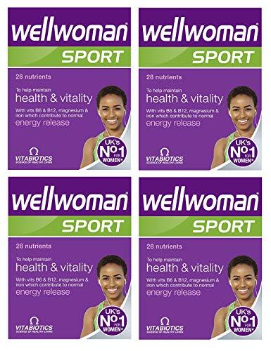 Vitabiotics Wellwoman Sport and Fitness - 30 Tablets (Pack of 4)