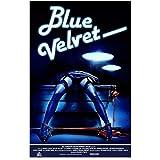 HJZBJZ Blue Velvet Movie Poster und Drucke Wandkunst Drucke