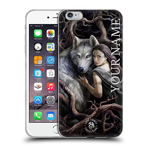 Head Case Designs Licenza Ufficiale Personalizzata Personale Anne Stokes Legame d'anima Arte Cover in Morbido Gel Compatibile con Apple iPhone 6 Plus/iPhone 6s Plus