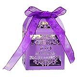 hfior 100 cajas de dulces Eid Mubarak para decoración de Ramadán para festivales musulmanes